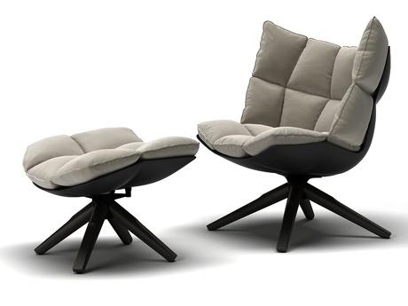 кресло Bb Italia Husk купить с доставкой описание фото цена