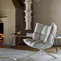 Дизайнерское кресло HUSK с доставкой интернет магазин MODEMUS 5